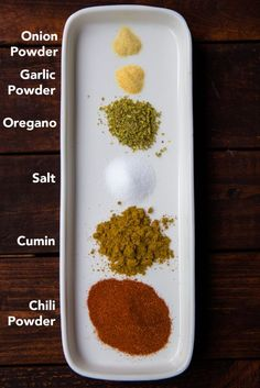 No need to bother with those taco seasoning packets. This homemade taco seasoning is so easy and so much better!