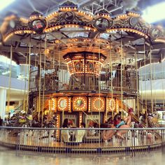 Magical things found inside a mall #merrygoround #westfield #carousel (Taken with Instagram)