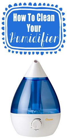 Tips For Cleaning Your Home Humidifier
