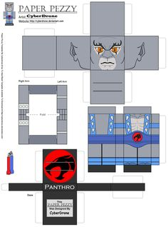 Paper Pezzy- Panthro 'Classic' by CyberDrone.deviantart.com on @deviantART