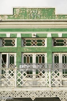 Photo : Old Dutch Colonial Building, Oranjestad, Aruba, Caribbean