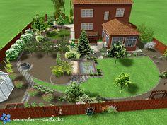Landscape Design Plans, Garden Design Plans, House Landscape, Patio Design, Outdoor Landscaping, Front Yard Landscaping, Site Plan Design, Farm Layout, Farm Plans