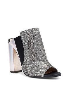 Chunky Peep-toe Mule @Victoria Brown's Secret  for $118