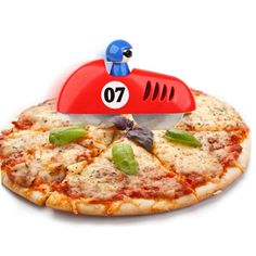 Pizza Racer Cutter - http://www.crackformen.com/pizza-racer-cutter-13 - #KitchenGadget