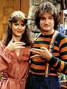 Mork and Mindy--Shawn just loved Mork and Mindy. He wanted to be a comedian like Robin Williams.