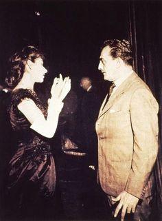 Con Maria Callas