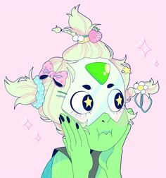 Peridot being K A W A I I as FUCK