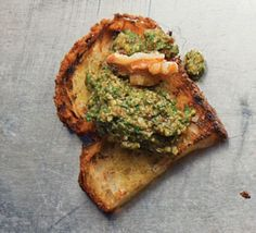 Italians have long used walnuts for pesto; they lend a rich earthiness to the sauce. This pesto is perfect as a pasta sauce and a bruschetta topping.