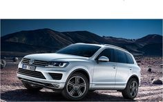 The brand new VW Touareg. Excellent design by Volkswagen