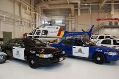 RCMP Police vehicles - Canada