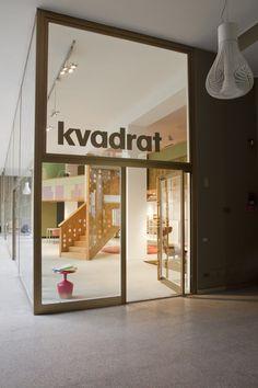 Kvadrat - Milan Showroom by Alfredo Häberli