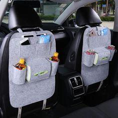 Car Back Seat Storage Bag Car Seat Cover Organizer Trash Net Holder Multi-Pocket Holder for Organizer Auto Storage Pouch Backseat Car Organizer, Car Seat Organizer, Car Organizers, Car Boot Organiser, Bag Hanger, Seat Storage, Hanging Storage, Kids Storage, Extra Storage