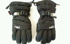 Head Jr.  Outlast  Ski Gloves w/Pockets Black, Medium #Outlast #SkiGloves