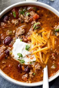 Barbecue Recipes, Entree Recipes, Chili Recipes, Soup Recipes, Great Recipes, Cooking Recipes, Healthy Recipes, Fall Recipes, Appetizer Recipes