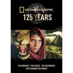 DVD OF THE WEEK: 125 YEARS. Out Jan 21st. A collection of documentaries commemorating the 125th anniversary of the National Geographic. Includes: 'Search for the Afghan Girl', 'Secrets of the Titanic', 'The Lost Film of Dian Fossey', 'Among the Wild Chimpanzees With Jane Goodall', 'Machu Picchu Decoded', 'Inside the Vatican', 'Incredible Human Machine' & 'Big Cat Odyssey'.