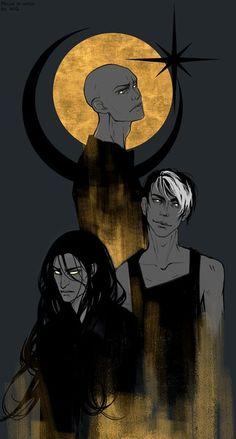 Дом в котором. Сфинкс, Слепой и Волк.