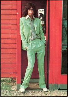 Mick, that suit!