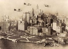 Then Vs. Now: 1920s New York City