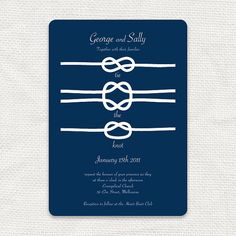 tie the knot wedding invitation printable file by idoityourself, $32.00