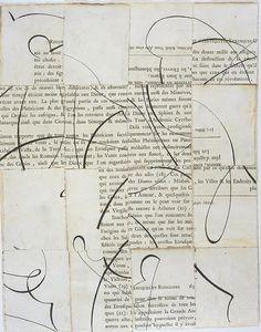 Elliott Puckette(American, b.1967) Untitled  2005 collage via blissfulblog