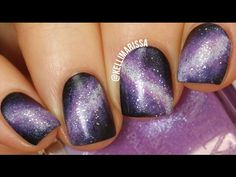 How To: Easy & Quick Dry Marble - Fifty Shades of Grey || Marine Loves Polish - YouTube