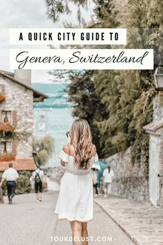 Switzerland is known for having the best fondue and chocolate. Here's a quick city guide to Geneva, Switzerland for your next vacation! Switzerland Travel Guide, Switzerland Itinerary, Switzerland Vacation, Visit Switzerland, Lake Geneva Switzerland, Switzerland Summer, Switzerland Cities, Voyage Europe, Europe Travel Guide