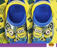 Çocukların her adımı daha da keyifli hale gelsin diye Minion'lar ayaklarının ucunda! @crocs #cocuk #minion #ayakkabi #shoes #crocs