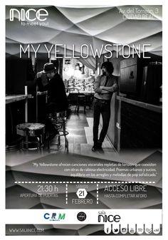 31Canciones presenta a My Yellowstone en Sala Nice (Ciudad Real)