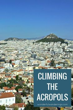 One of the things to do in Athens, Greece is visit the Acropolis. So that's what I did! Click to read more or pin and save for later.