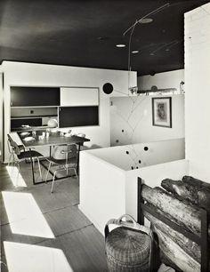 Marcel Breuer (1902-1981) | Stillman House I | Litchfield, Connecticut | 1950-51 | Photo: Ben Schnall | Source: Marcel Breuer Digital Archive