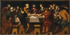 """Joyas del Arte: """"La Última Cena"""" de Tintoretto   Academia de Bellas Artes San Fernando."""