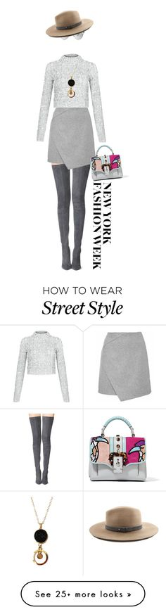 """Day Three: The Best NYFW Street Style"" by henaayu on Polyvore featuring Tamara Mellon, Paula Cademartori, Cameo Rose, Christian Dior, rag & bone, women's clothing, women, female, woman and misses"