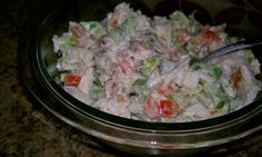 Whole30 Day 21 Lunch: Leftover Chicken Salad.  Chicken, onion, green bell pepper, tomatoes, homemade mayo, and black pepper. Delish!