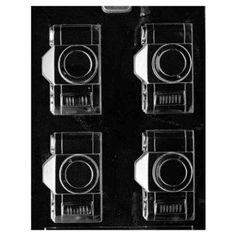 Camera Candy Mold | Confectionery House - I want a bag full of camera shaped chocolates!