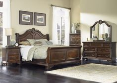 Buy Highland Court Bedroom Set by Liberty from www.mmfurniture.com.