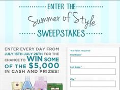 The Newhall Laboratories Summer of Style Sweepstakes