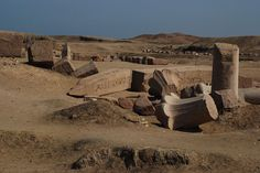 Tanis, Egypt. Also known as Djanet, Tanis was once a wealthy commercial canter and the capital of the 21st and 22nd dynasties in Egypt. In recent years, one of the greatest archaeological troves was found in the ruins of Tanis. Tanis has many fine royal tombs as well as obelisks. Obelisks at Tanis | photo by DSLEWIS