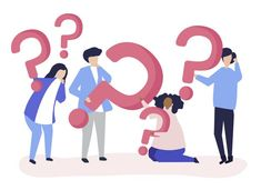 Group of people holding question mark icons Free Vector Aides Sociales, Point D'interrogation, Tefl Certification, Question Mark Icon, Communication Icon, Earliest Pregnancy Symptoms, Multiple Choice, Deep Learning, Hurdles