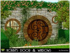 "Windows and doors ""The Hobbit"" 