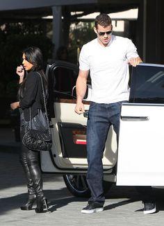 Kim Kardashian & Kris Humphries Arriving At Four Seasons - Kim Kardashian & Kris Humphries Photo (23435424) - Fanpop