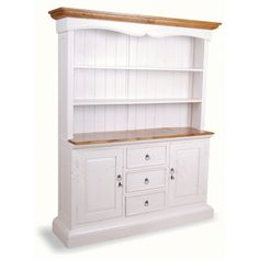 French painted wide kitchen dresser. £829.99 http://www.worldstores.co.uk/p/French_Painted_Wide_Kitchen_Cabinet.htm