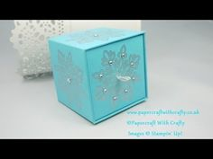 Cubed Gift Box with Drawer Opening - YouTube