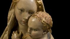 Madonan con Bambino, Donatello. Citerna, Perugia, Italy.
