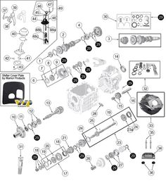 Interactive Diagram - Jeep CJ5 T5 Transmission Parts