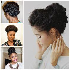 Coolest Updo Penteados para cabelos naturais - http://bompenteados.com/2016/07/28/coolest-updo-penteados-para-cabelos-naturais.html