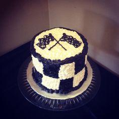 Get your motor running!  #VroomVroom #guycake #birthday #Cake #Custom #buttercream #yum #racing #Nascar #Cars #Mmmm