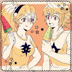 Corrin's Summer [M & F] (Fire Emblem Fates) <<< Kamui and Corrin