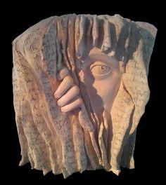 Paola Grizi, sculpture The secret 7/20  