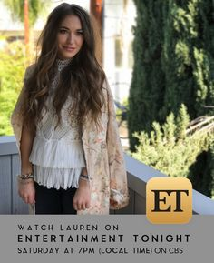 Lauren Daigle on Entertainment Tonight at Local Time. Check your local listings for more info. Christian Singers, Christian Music, Christian Artist, Lauren Daigle, Gospel Music, Her Music, Entertainment Tonight, Local Listings, Ruffle Blouse