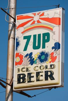 7 UP sign by Peter Max